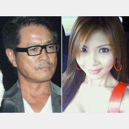 逮捕された高知東生容疑者と五十川敦子容疑者(本人のブログから)