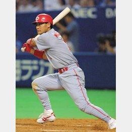 広島OBの前田は1本足りず…で首位打者を逃した