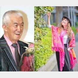 永六輔(左)への感謝を語る木の実ナナ