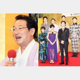 NHK大河「おんな城主 直虎」会見に登場