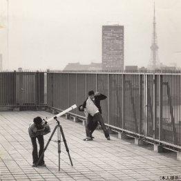 33年前の東京の空は大きかった(映画「家族ゲーム」から)