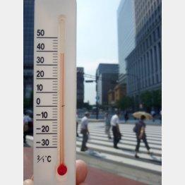 最も暑かった2010年と酷似