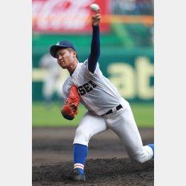 甲子園11Kデビューの寺島