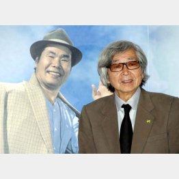 映画「男はつらいよ」の山田洋次監督(右)
