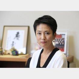 """民進党代表選で現在""""独走""""状態"""
