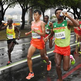 リオ五輪男子マラソンで16位に終わった佐々木悟