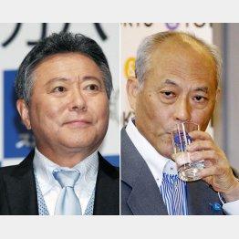 小倉智昭(左)と舛添前知事はどっちもどっち?