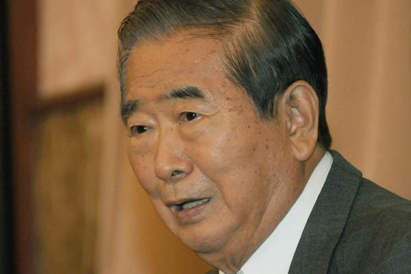 担当局長に直接指示した石原慎太郎元都知事(C)日刊ゲンダイ