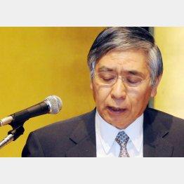 7カ月ぶりに首相と会談した黒田総裁