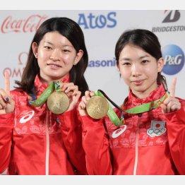 リオ五輪で金メダルの高橋・松友ペア