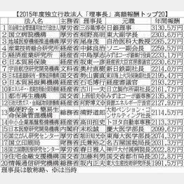 GPIF理事長の年収は3130万円!
