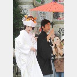 京都の上賀茂神社で挙式