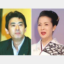 デビュー30周年を迎える坂本冬美(右)とおりも政夫