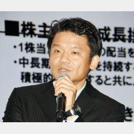 ヤフーの宮坂社長が社員を前に導入検討を話した