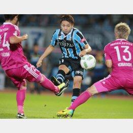 横浜M戦で決勝ゴールを決めた小林