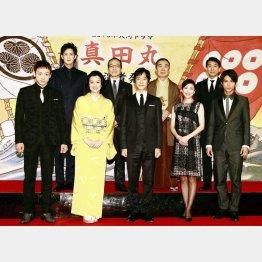 NHK「真田丸」の豪華キャスト陣