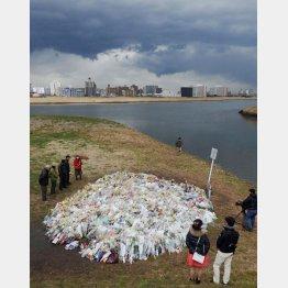 川崎中1殺害事件の遺体発見現場