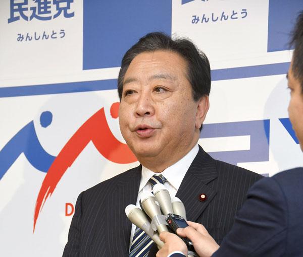野田幹事長の本心は根深いものがある(C)日刊ゲンダイ