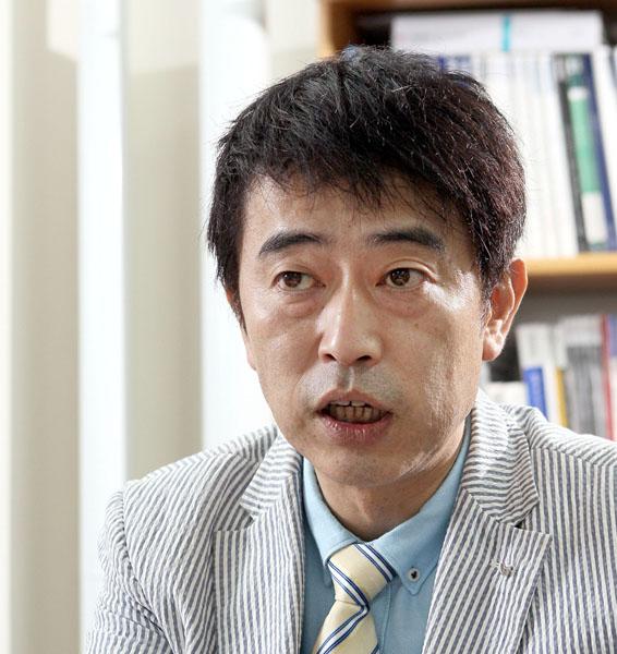 建築エコノミストの森山高至氏(C)日刊ゲンダイ