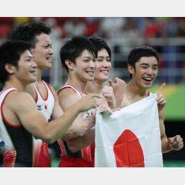 リオ五輪では体操男子団体金メダル