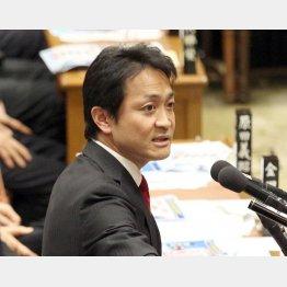 TPP特別委で質問した民進党の玉木衆院議員(C)日刊ゲンダイ