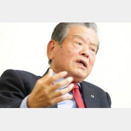 日本バスケットボール協会エグゼクティブアドバイザーの川淵三郎氏