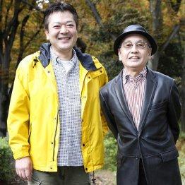 吉川潮(右)と立川談笑