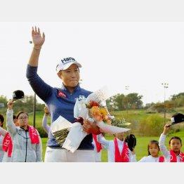 韓国ゴルフブームを起こした朴セリ