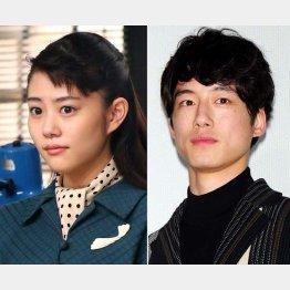 高畑充希(左)と坂口健太郎