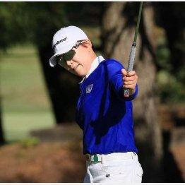 韓国女子プロゴルフ協会の推薦で参戦した申ジエ