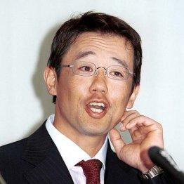 契約更改を終えた当時の古田選手
