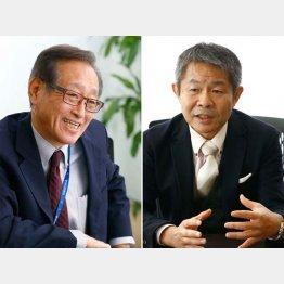 潮匡人氏(右)と二木氏