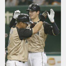 中田(左)と大谷、同時流出は避けたいが…
