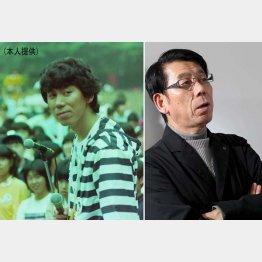 吉田照美さん(左は文化放送アナ時代)