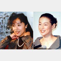 浅野ゆう子(左)と鈴木保奈美