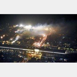 冬の火事は怖い(糸魚川の現場)