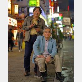 「フライデー」時代は良きライバルだった小原玲氏(左)と宮嶋茂樹氏