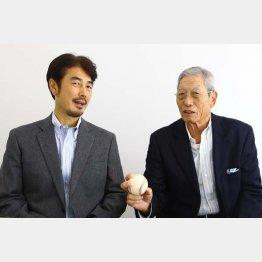 権藤博氏(右)と吉井理人氏
