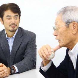 近鉄時代を懐かしむ吉井氏(左)と権藤氏