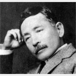 夏目漱石は今年生誕150年(C)共同通信社