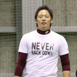 代表入りに意欲を示した楽天・松井裕
